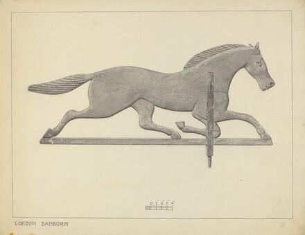 Horse Weather Vane