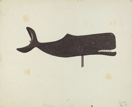 Whale Weather Vane