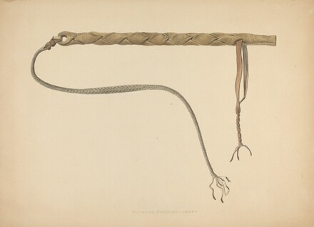 Rawhide Herder's Whip