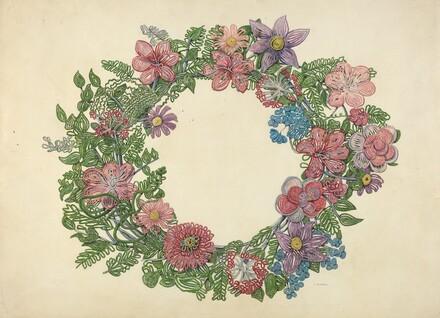 Cemetary Wreath