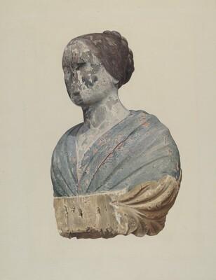 Figurehead from Schooner Polly