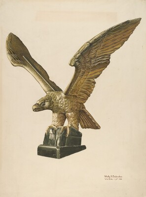Eagle: Pilot House Ornament