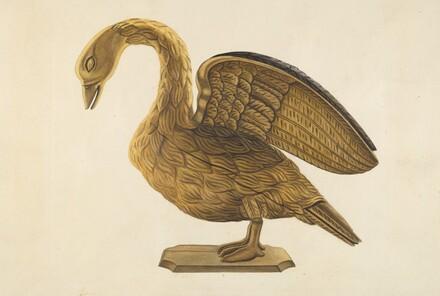 Carved Goose