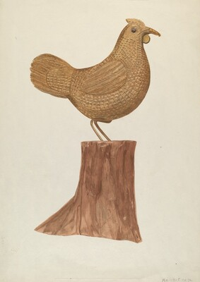 Little Wooden Hen