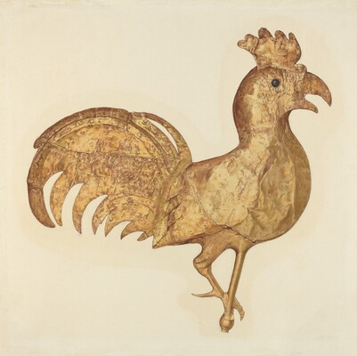 Weather Vane: Rooster