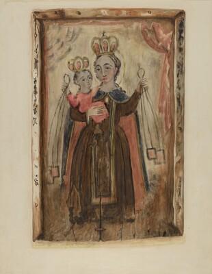 Retablo (Our Lady of Carmel)