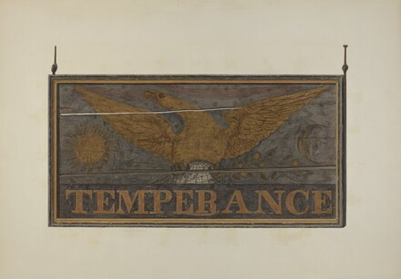 Tavern Sign: Temperance