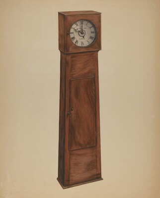 Shaker Grandmother Clock