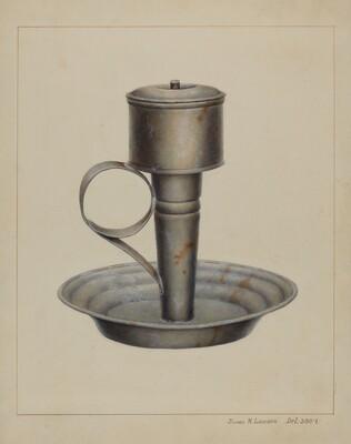 Portable Whale Oil Lamp