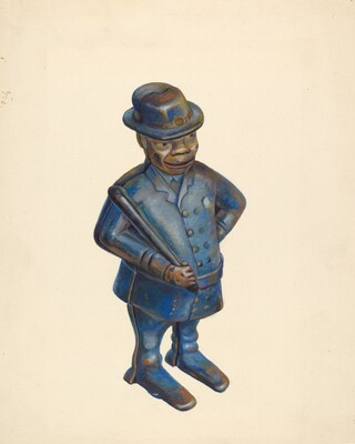 Toy Bank: Policeman