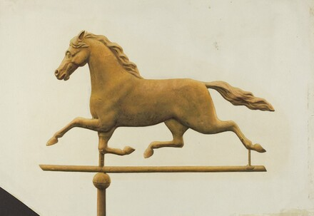 Running Horse Weather Vane