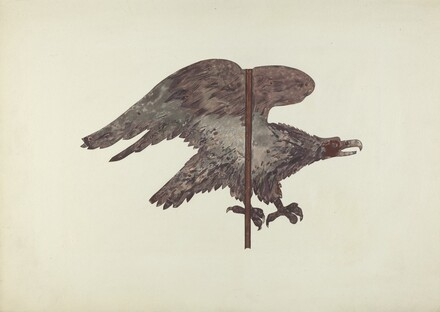 Flying Eagle Weather Vane