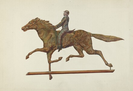 Weather Vane - Horse and Rider