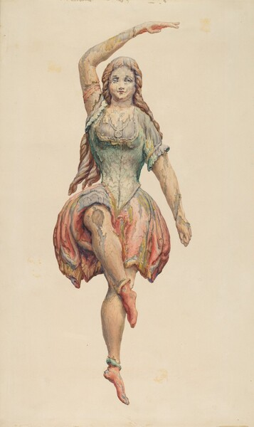 Dancing Girl from Spark's Carousel Wagon