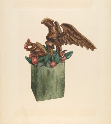 Squirrel and Eagle