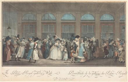The Palais Royal - Gallery's Walk / Promenade de la Galerie du Palais Royal