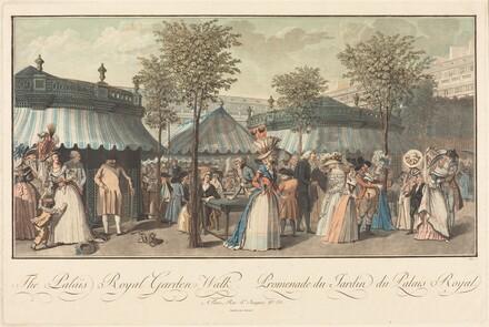 The Palais Royal--Garden's Walk / Promenade du Jardin du Palais Royal