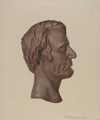 Cast Iron Abraham Lincoln