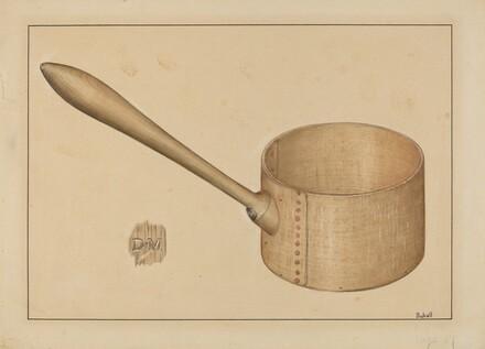 Shaker Wooden Dipper
