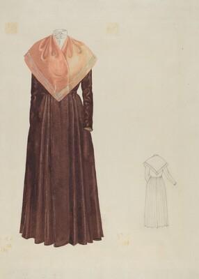 Shaker Woman's Costume