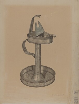 Betty Lamp and Stand