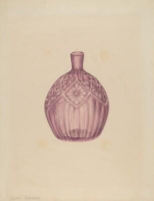 Glass Cologne Bottle