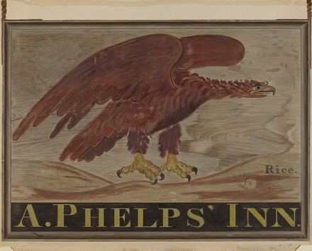 Inn Sign: A. Phelps'