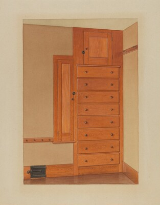 Shaker Built-In Cupboard