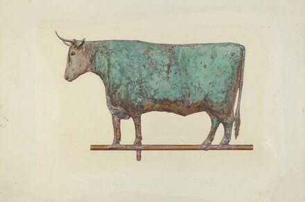 Steer Weather Vane