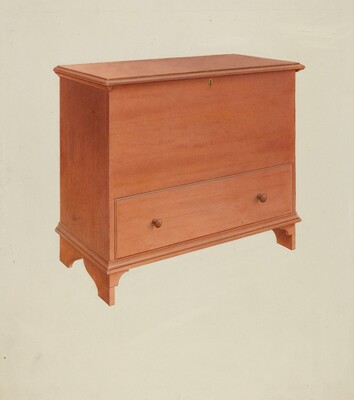 Shaker Chest with Drawer