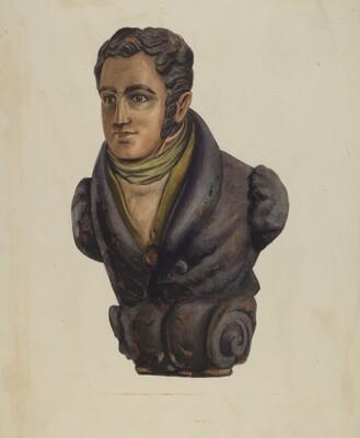 Figurehead from Bartholomew Gosnold