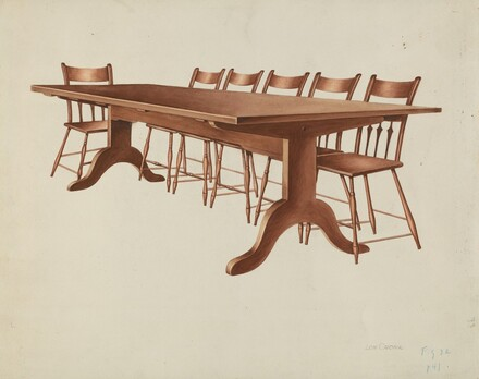 Shaker Table and Chairs
