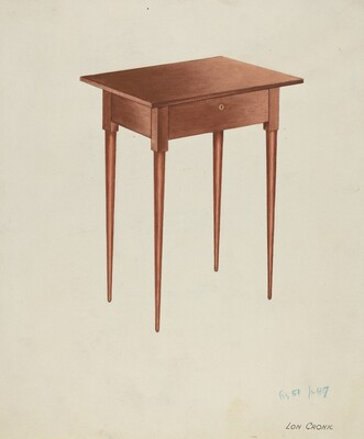 Shaker Candle Table
