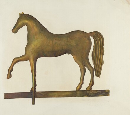 Weather Vane Horse