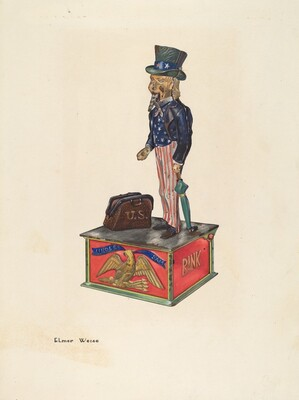 Toy Bank: Uncle Sam