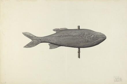 Fish Weather Vane