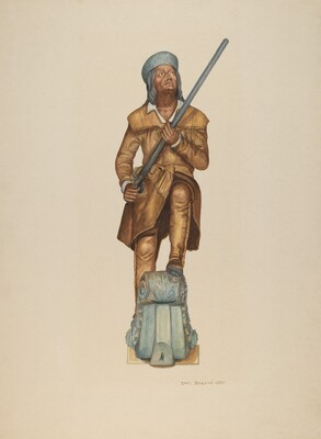 Figurehead: Davy Crockett