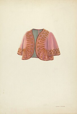 Velvet Bolero for Women