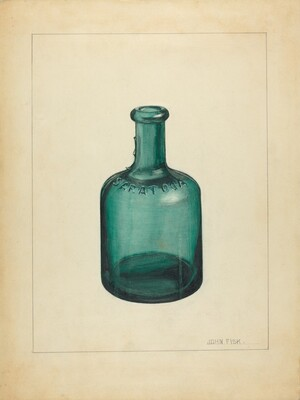 Blown Glass - Bottle