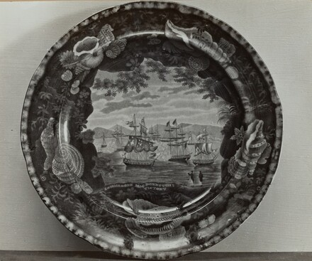 Comm. MacDougal's Victory Plate