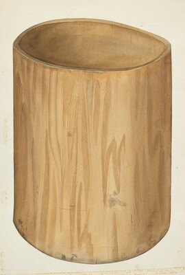 Flour Barrel