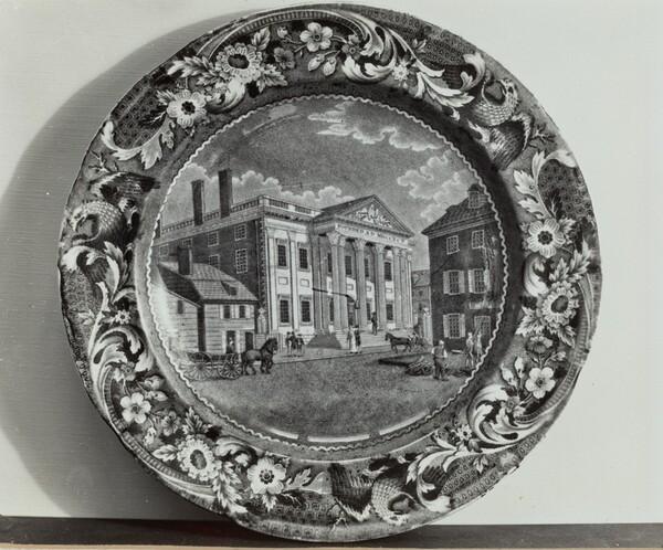 Plate - Bank of U.S., Philadelphia