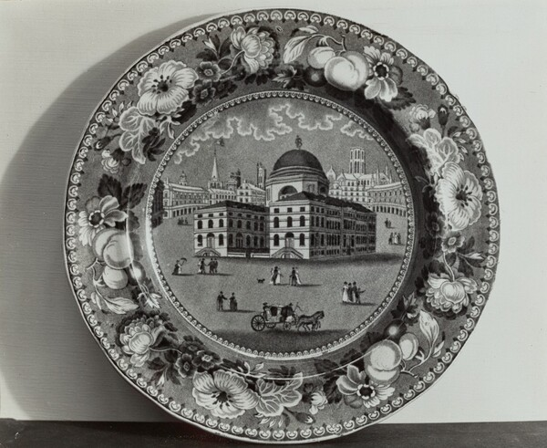 Plate - Exchange, Baltimore