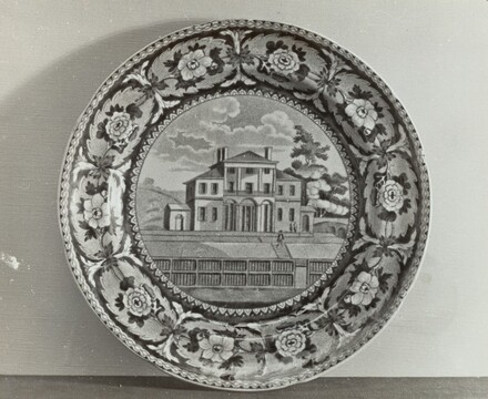 Plate - Insane Hospital, Boston