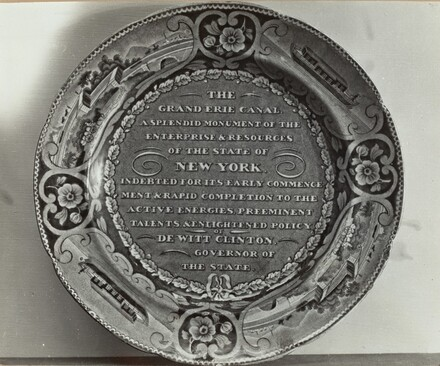 Memorial Plate - Dewitt Clinton