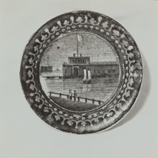 Plate - Castle Garden and Battery