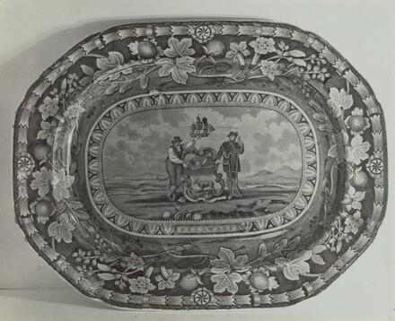 Platter - Delaware Arms