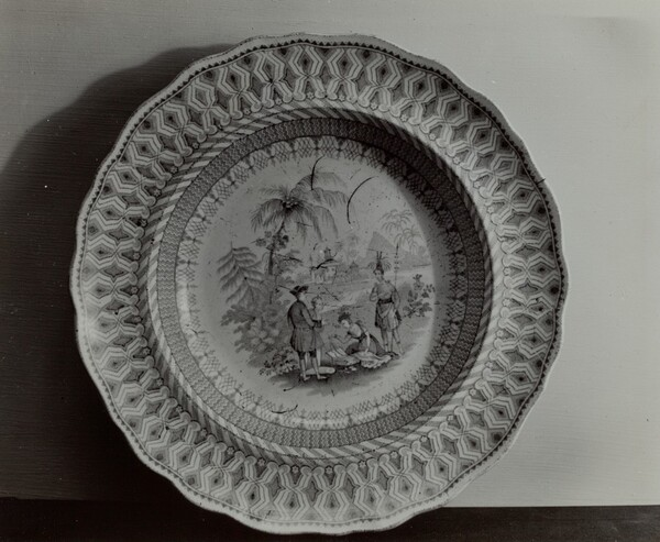 Plate - Penn's Treaty with the Indians