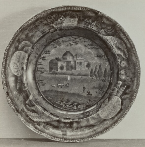 Plate - The Capitol, Washington