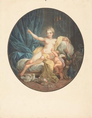 Venus desarmant l'amour